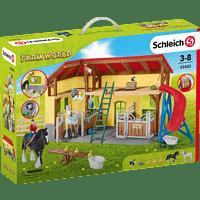 SCHLEICH Pferdestall Spielfigur, Mehrfarbig