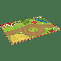 SCHLEICH Spielteppich Bauernhof Teppich, Mehrfarbig