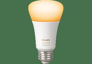 PHILIPS Hue White Amb. E27 Einzelpack Bluetooth LED Lampe kaltweiß bis warmweiß