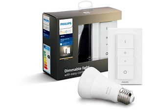 PHILIPS Hue White E27 Wireless Dimming Bluetooth Starter Kit Warmweiß
