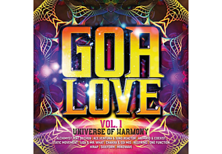VARIOUS - GOA LOVE VOL.1-UNIVERSE OF HARMONY  - (CD)
