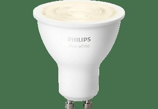 PHILIPS Hue White GU10 Bluetooth LED Lampe Warmweiß