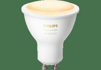PHILIPS HueWhite Amb. GU10 Bluetooth LED Lampe kaltweiß bis warmweiß