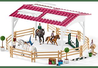 SCHLEICH Horse Club Reitschule mit Reiterinnen und Pferde Spielfiguren Mehrfarbig