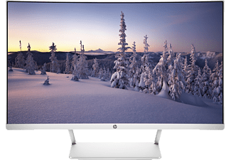 "HP 27 Curved - Monitor (27 "", Full-HD, 60 Hz, Argento/Bianco)"