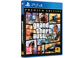 Grand Theft Auto V - Premium Edition (PlayStation 4)