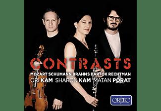 Sharon Kam, Ori Kam, Matan Porat - Contrasts  - (CD)