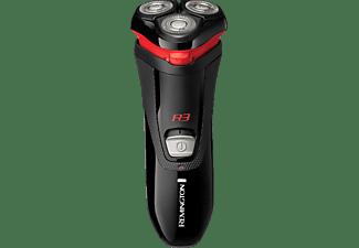 REMINGTON R3000 R3 Style Rasierer Schwarz/Rot (Dual-Track-Schneidsystem)