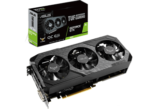 ASUS Grafikkarte TUF Gaming X3 GeForce GTX 1660 OC 6GB (90YV0D15-M0NA00)