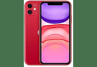 "Apple iPhone 11, Rojo, 128 GB, 6.1"" Liquid Retina HD, Chip A13 Bionic, iOS, (PRODUCT)RED™"