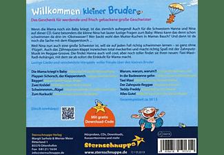 Sternschnuppe - Willkommen kleiner Bruder  - (CD)