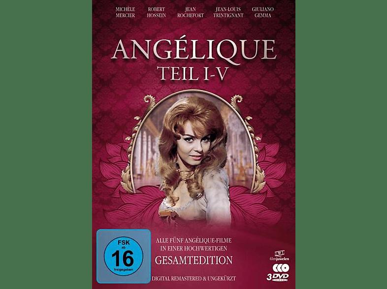 Angelique I-V-Gesamtedition (Alle [DVD]