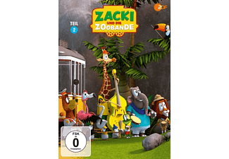 Zacki und die Zoobande - Teil 2 DVD