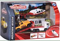 MAJORETTE Diorama Playset, 2-sortiert Spielset, Farbauswahl nicht möglich