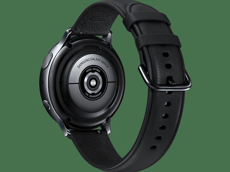 SAMSUNG Galaxy Watch Active 2 44mm Android Uyumlu Ak%C4%B1ll%C4%B1 Saat Paslanmaz %C3%87elik Siyah Samsung Galaxy Watch Active (Siyah)-SM-R500NZKATUR