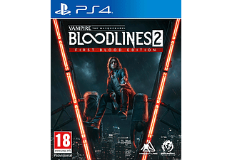 Vampire Masquerade: Bloodlines 2 First Blood Edition FR/NL PS4