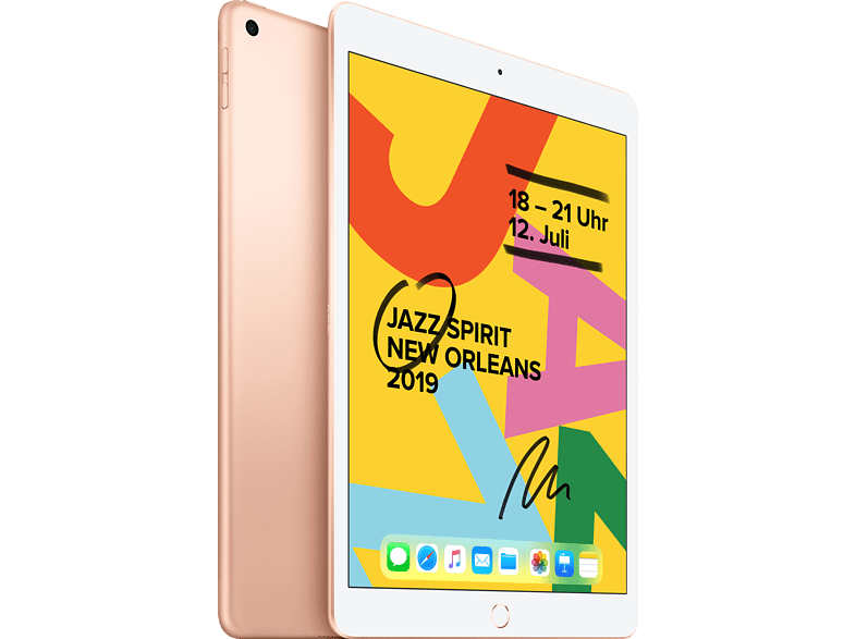 APPLE iPad (2019), Tablet , 32 GB, 10.2 Zoll, Gold