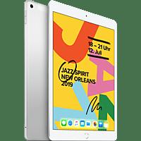 APPLE iPad Cellular (2019), Tablet, 128 GB, 10,2 Zoll, Silber