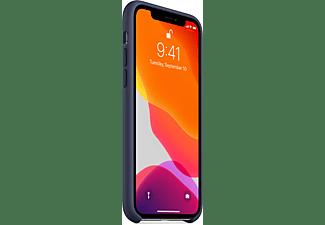 APPLE Silicone Case, Backcover, Apple, iPhone 11 Pro, Mitternachtsblau