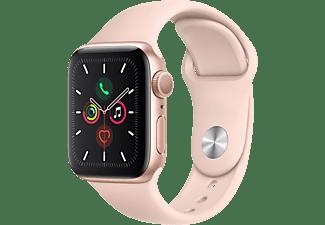 APPLE Watch Series 5 40mm goud aluminium / roze sportband