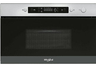 Horno microondas - Whirlpool AMW 4920/IX, integrable 22L, 750W, Inox