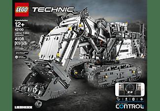 LEGO 42100 Liebherr Bagger R 9800 Bausatz, Mehrfarbig
