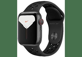 REACONDICIONADO Apple Watch Nike Series 5, Chip W3, 40mm, GPS + Cellular, Caja de aluminio en gris espacial