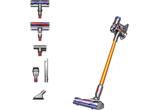 DYSON V8 Absolute - Aspirateur-balais rechargeable (Nickel/Jaune)