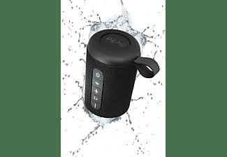 PEAQ PPA 201 BT-B Bluetooth Lautsprecher, Schwarz, Wasserfest