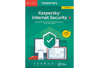 PC/Mac - Kaspersky Internet Security (3 Geräte): Swiss Edition Upgrade /D