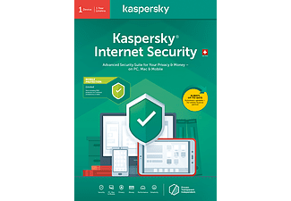 PC/Mac - Kaspersky Internet Security (1 Gerät + 1 Android-Gerät): Swiss Edition /D