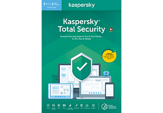 PC/Mac - Kaspersky Total Security (3 Geräte): Swiss Edition /D