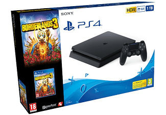 Consola - PS4 Slim 1TB + Borderlands 3