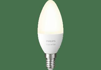 PHILIPS Hue White E14 Einzelpack Bluetooth LED Lampe Warmweiß