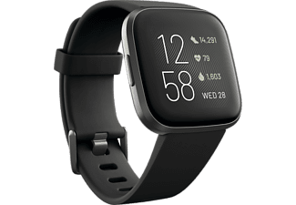 FITBIT Activity tracker Versa 2 Black Carbon
