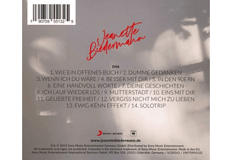 Jeanette Biedermann - DNA  - (CD)