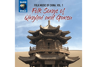 VARIOUS - FOLK MUSIC OF CHINA, VOL. 1 - FOLK SONGS OF QINGHA  - (CD)