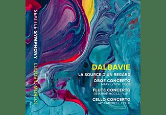 Lynch/McGill/Morlot/Seattle Symphony - La Source d'un Regard/Oboenkonzert/+  - (CD)