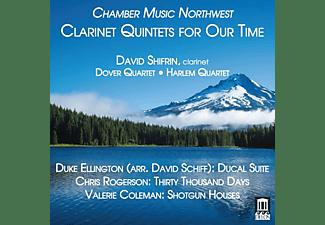 Dover Quartet, Harlem Quartet, David Shifrin - Clarinet Quintets for Our Time  - (CD)