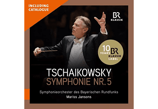 Symphonieorchester Des Bayerischen Rundfunks, Mariss Jansons - Mariss Jansons dirigiert Tschaikowsky  - (CD + Buch)