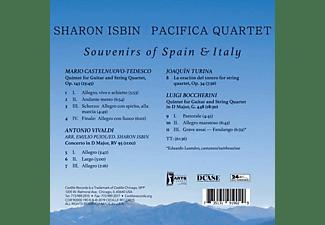 Sharon/pacifica Quartet Isbin - Souvenirs of Spain & Italy  - (CD)