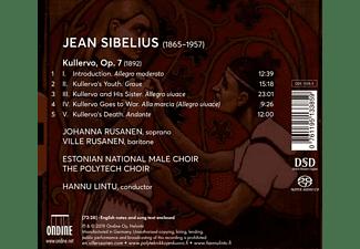 Rusanen/Lintu/Estonian Male Choir - Kullervo  - (SACD)