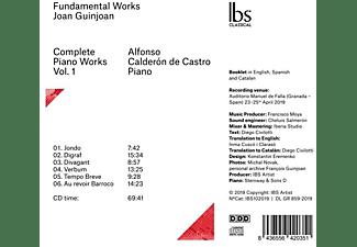 Alfonso Calderon De Castro - Fundamental Works  - (CD)