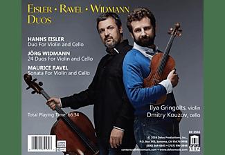 Gringolts,Ilya/Kouzov,Dmitry - Eisler,Ravel,Widmann: Duos  - (CD)