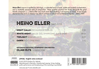 Olari/estonian National Symphony Orchestra Elts - Symphonic Poems  - (CD)