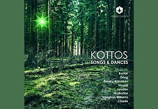 Kottos, Bjarke Mogensen, Pernille Petersen, Josefine Opsahl, Christos Formakis - Kottos-Songs & Dances  - (CD)