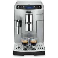DELONGHI ECAM 516.45 PrimaDonna S Evo  Kaffeevollautomat Silber/Schwarz
