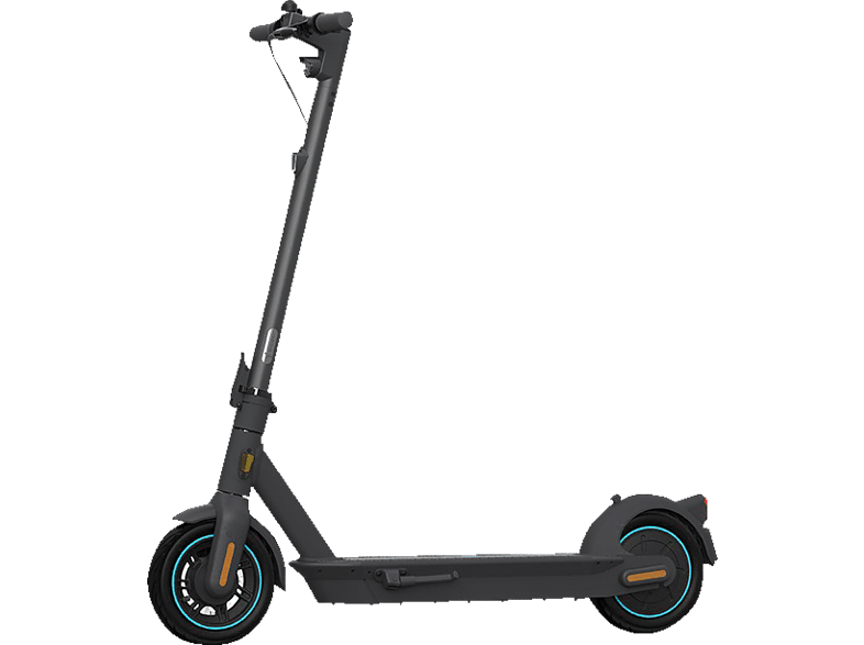 NINEBOT MAX G30D powered by SEGWAY E-Scooter (10 Zoll, Schwarz/Blau)