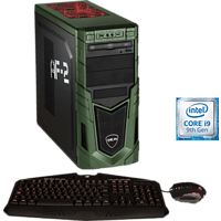 HYRICAN MILITARY GAMING 6425, Gaming PC mit Core™ i9 Prozessor, 32 GB RAM, 480 GB SSD, 1 TB HDD, Geforce RTX 2080 SUPER, 8 GB