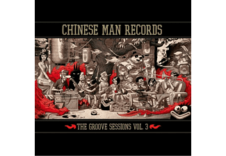 The Chinese Man - The Groove Sessions Vol.3 (3LP Red Vinyl)  - (Vinyl)